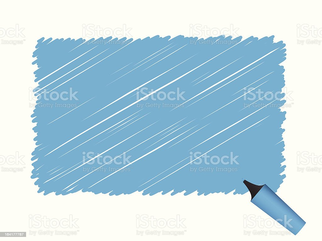 Pen scribble royalty-free stock vector art
