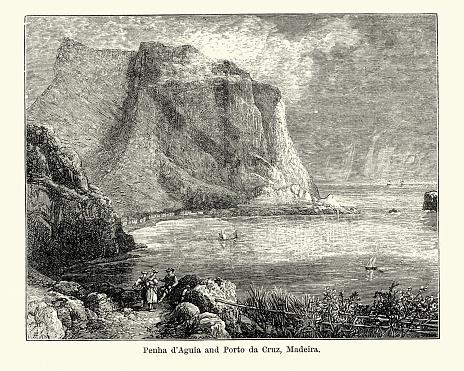Penha d'Aguia and Porto da Cruz, Madeira, 19th Century