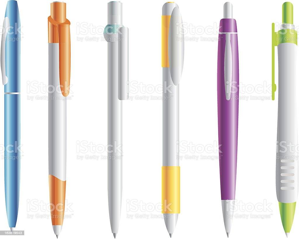 pens royalty-free pens stock vector art & more images of ballpoint pen