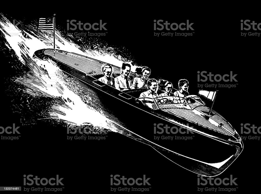 People in a Speedboat royalty-free people in a speedboat stock vector art & more images of adult