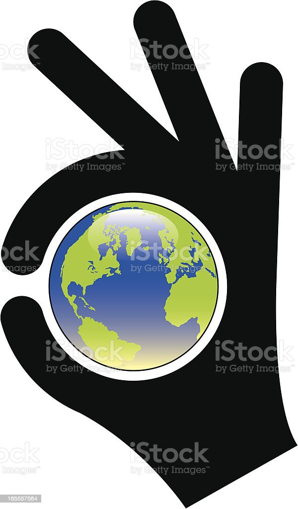 Perfect world royalty-free stock vector art