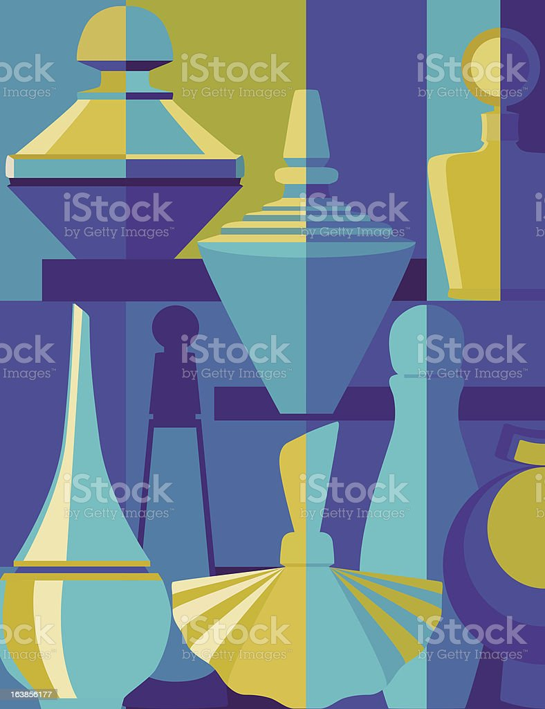 Perfume silhouette royalty-free perfume silhouette stock vector art & more images of back lit