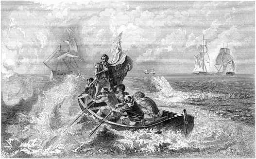 Perry`s victory on lake Erie