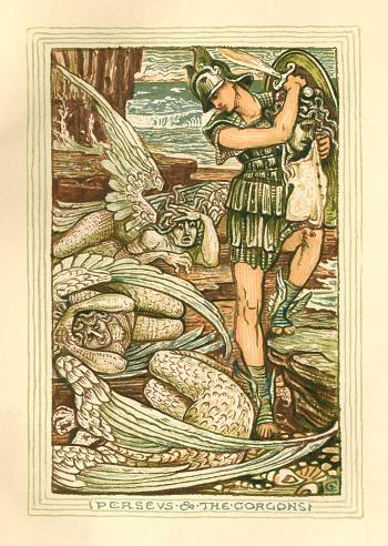 Perseus and the Gorgons - Greek mythology