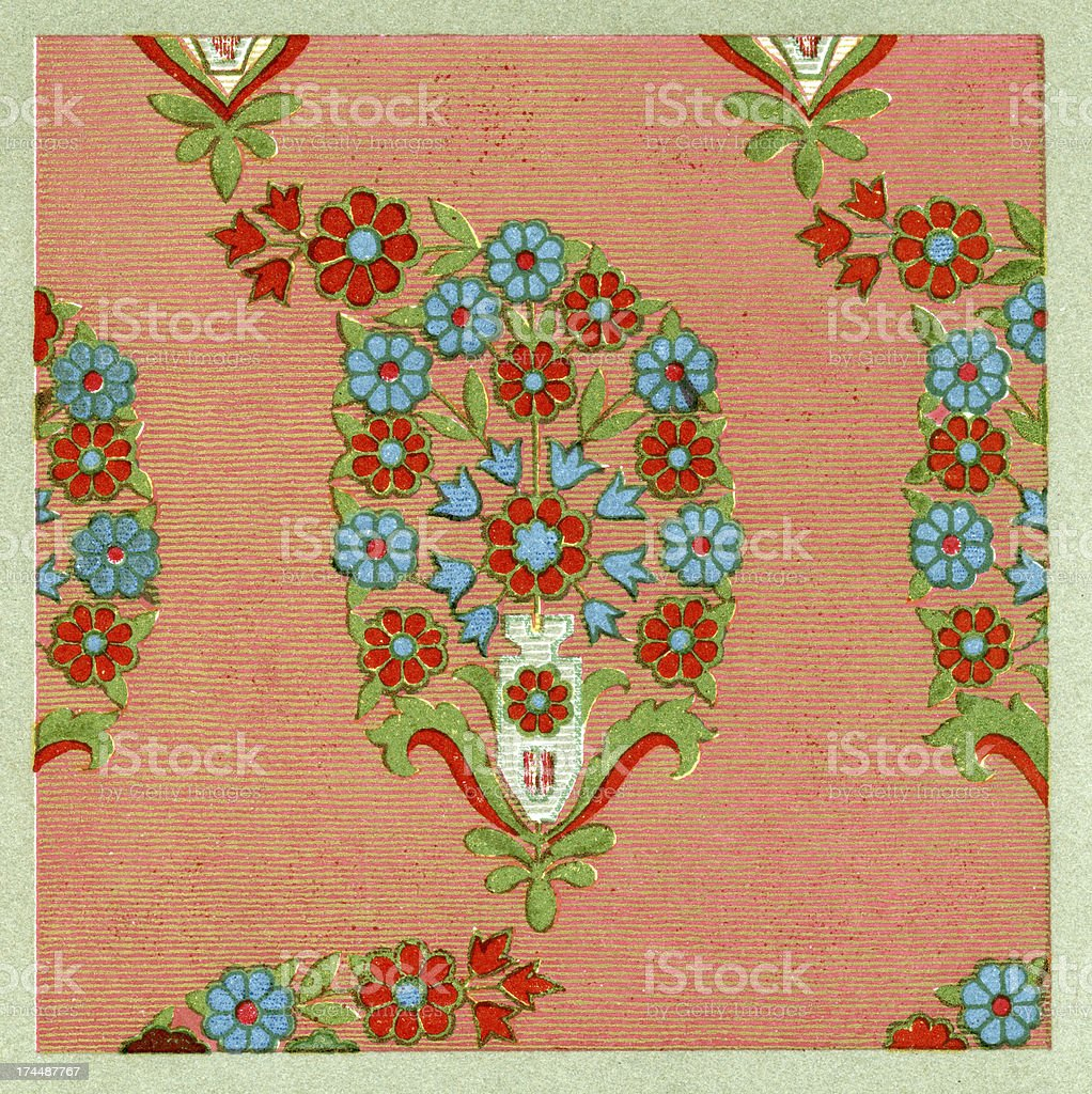 Persian Pattern royalty-free stock vector art