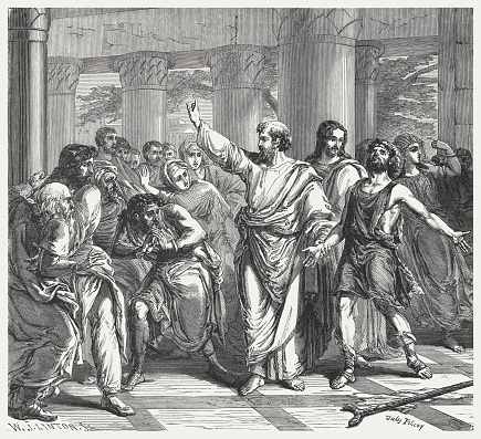Peter and John Heal a Lame Man (Acts 3)