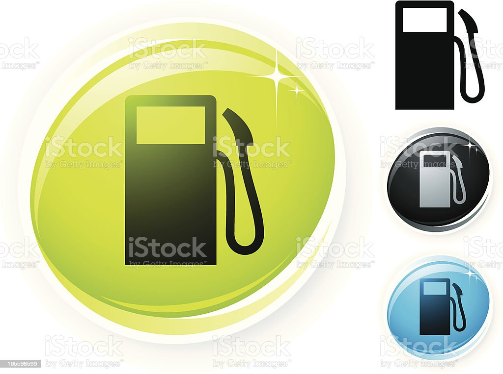 Petrol icon royalty-free petrol icon stock vector art & more images of black color