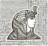 Pharaoh head
