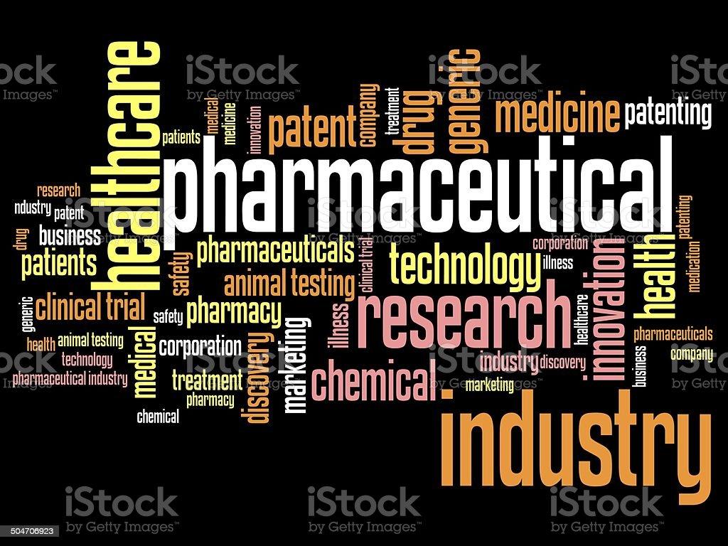 Pharmacy business vector art illustration