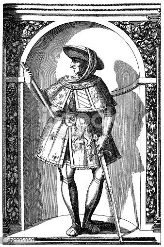 Illustration of a Philip the Good, Duke of Burgandy (15th Century)