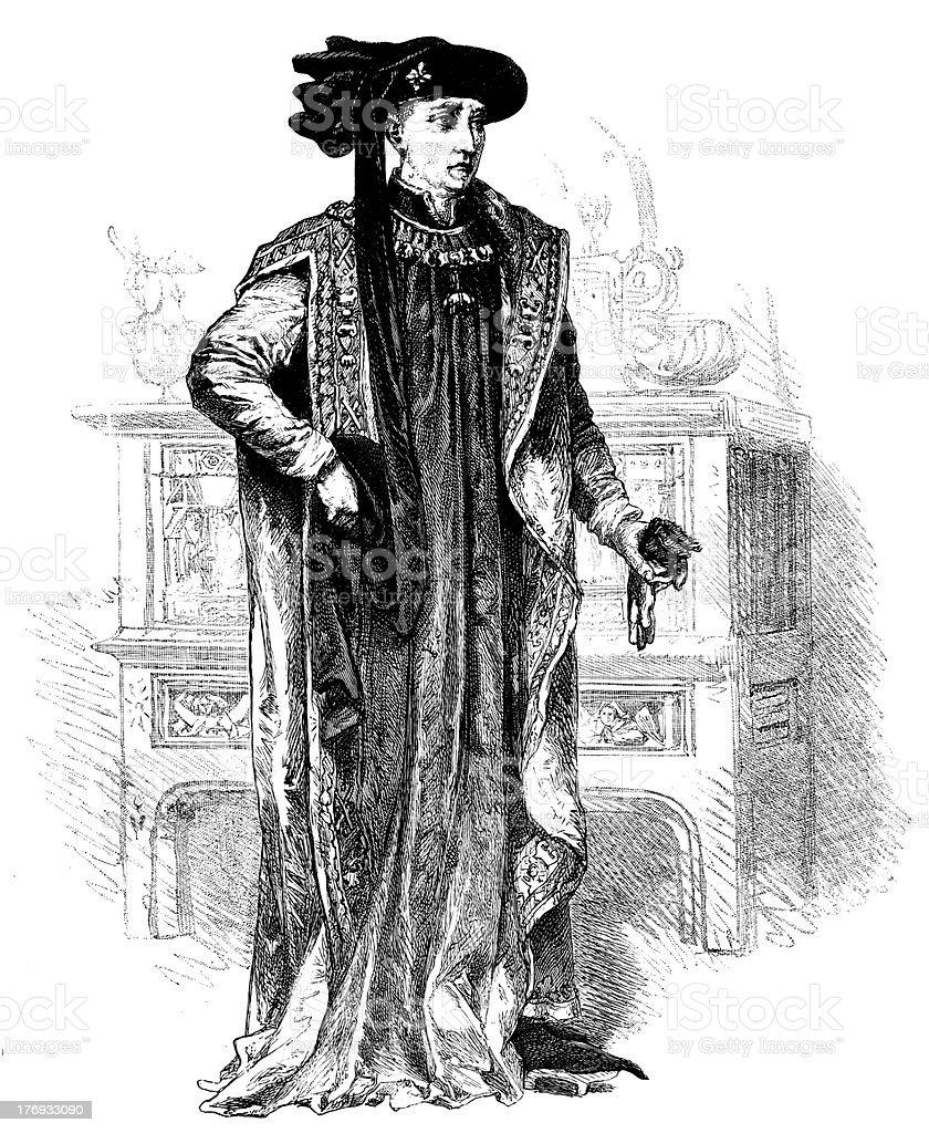 Philip The Good royalty-free stock vector art