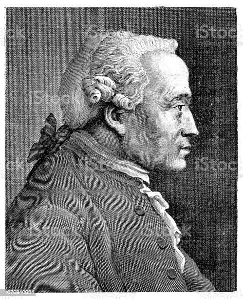 Il Filosofo Immanuel Kant - Immagini vettoriali stock e altre immagini di  Acquaforte - iStock