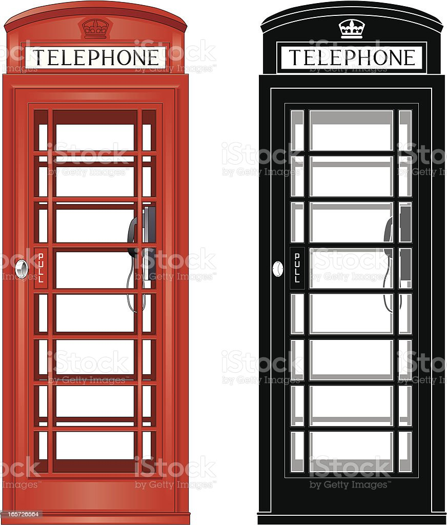 Phone box royalty-free phone box stock vector art & more images of british culture