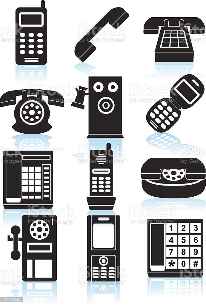 Phones royalty-free stock vector art