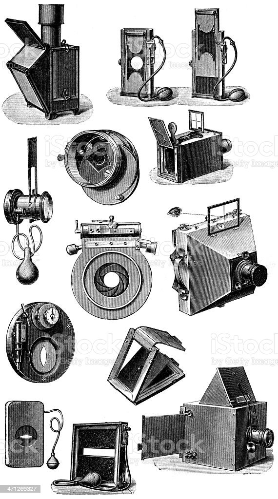 photo accessories royalty-free stock vector art