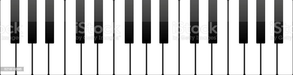 Ilustración De Teclas Fondo Abstracto De La Música De Piano