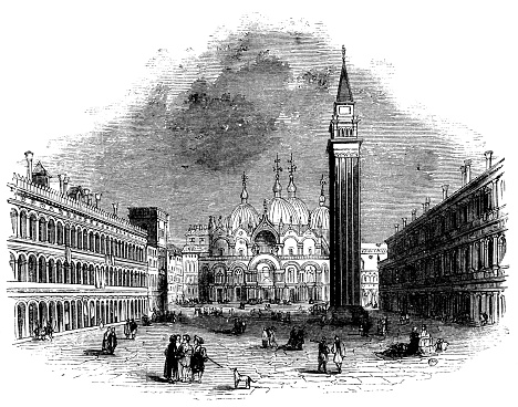 Piazza San Marco in Venice, Italy - 16th Century