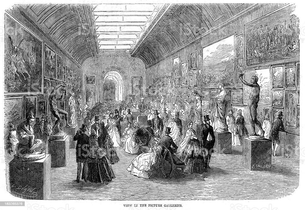 写真ギャラリーの 1862 万国博覧会 1860 1869年のベクターアート素材
