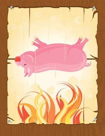 BBQ Pig Roast Poster