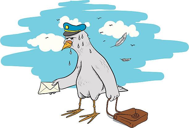 Любви открытку, гифка голубиная почта
