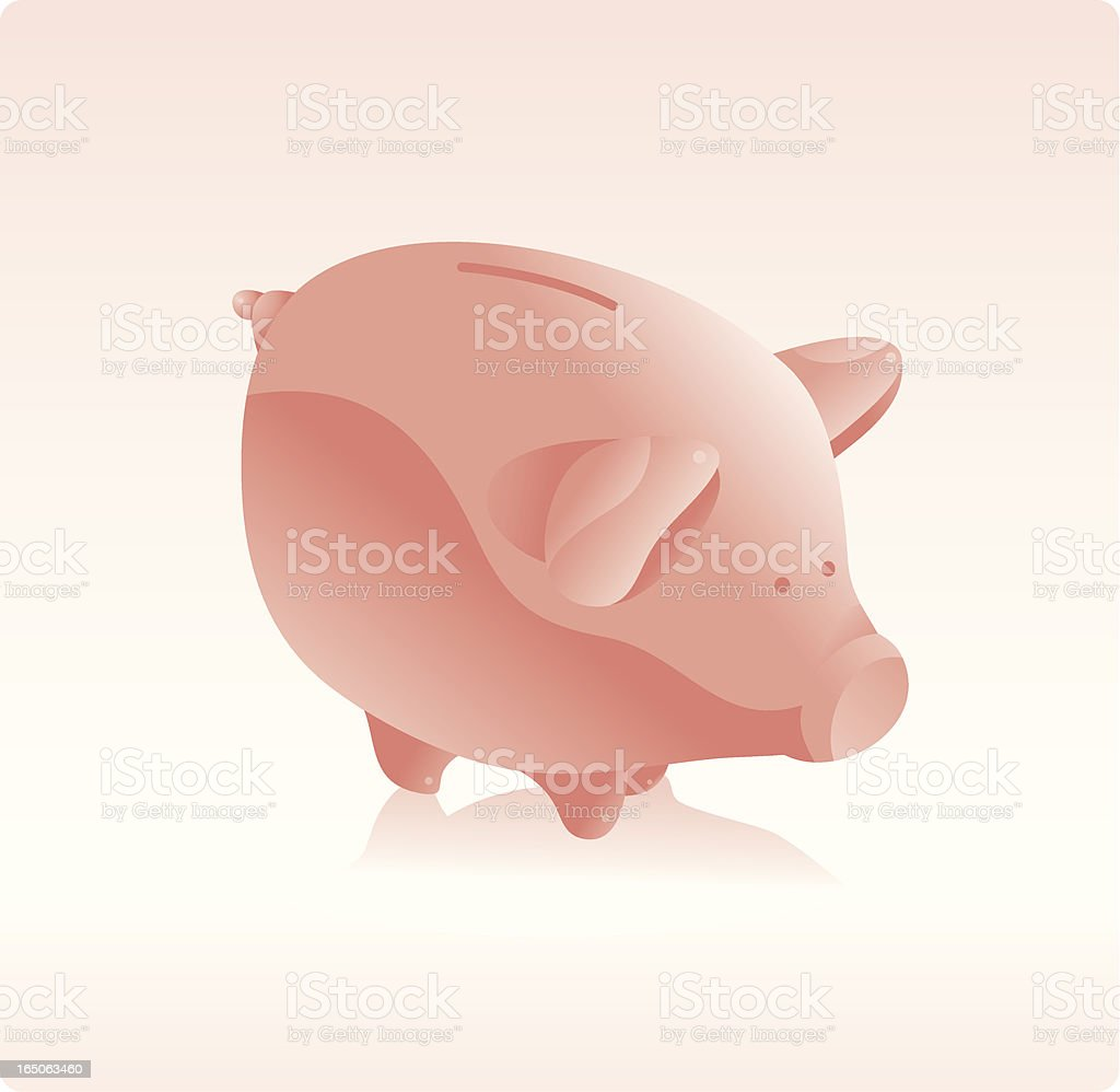 Piggy Bank royalty-free piggy bank stock vector art & more images of banking