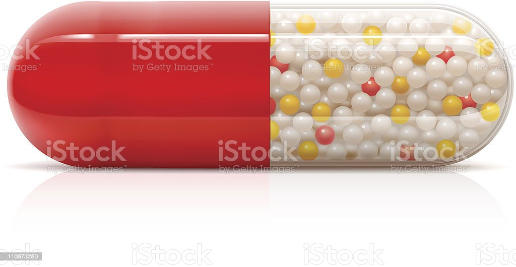 Pill royalty-free stock vector art