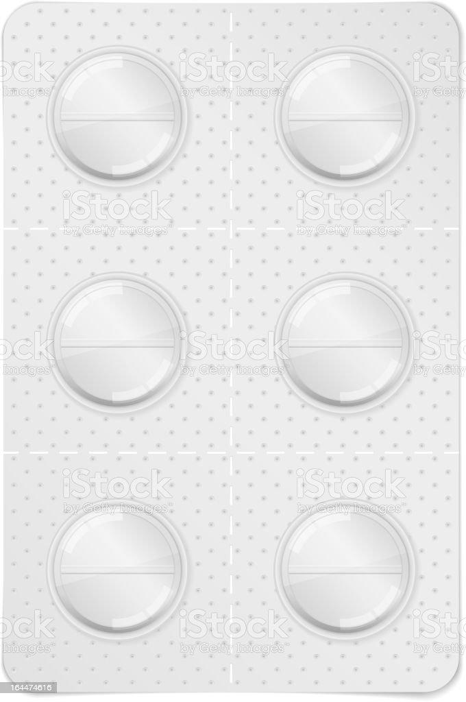 Pills vector art illustration