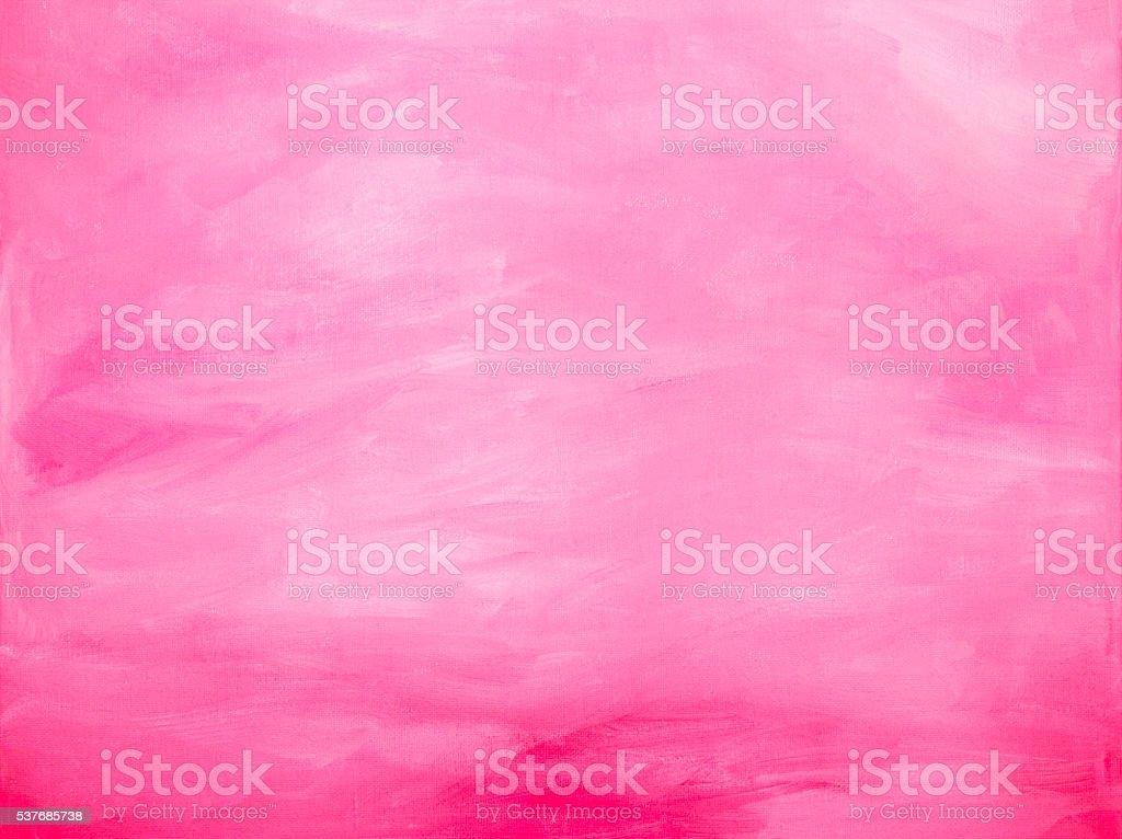 Pink acrylic brush strokes abstract background vector art illustration