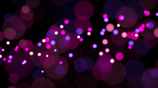 Pink And Purple Lights Abstract Wallpaper Stock Illustration Download Image Now