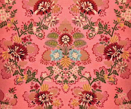 Pink Baroque Decoration向量圖形及更多具有特定質地圖片