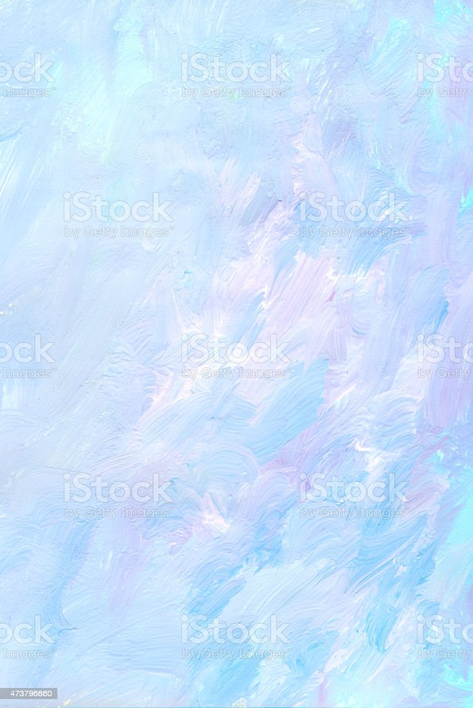 Pink blue painted art background vector art illustration