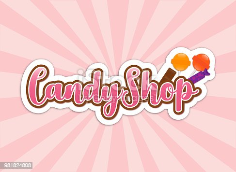Pink Candy Shop Sign