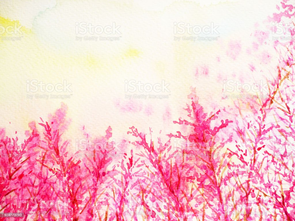 Pink flower background watercolor painting hand drawing love pink flower background watercolor painting hand drawing love valentines day royalty free pink flower background mightylinksfo
