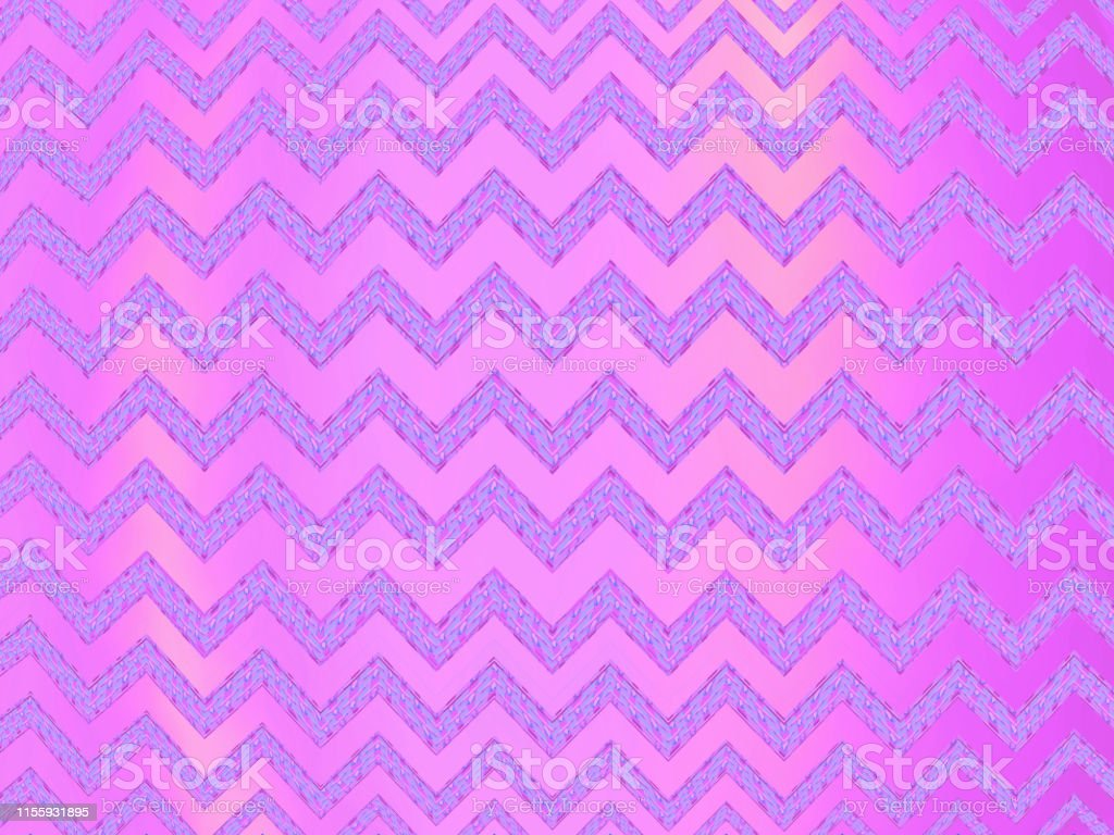 Pink metallic pattern in zigzag