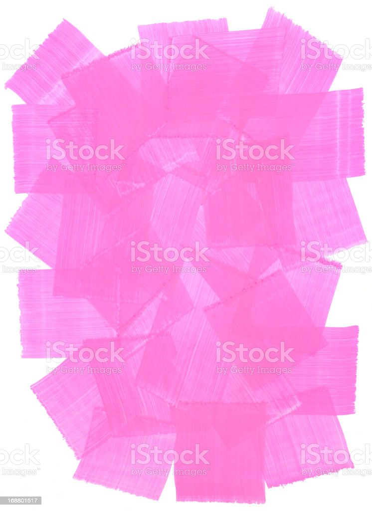 Pink Rough Grunge Brush Painted Texture Frame royalty-free pink rough grunge brush painted texture frame stock vector art & more images of abstract