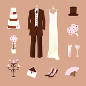 """a vintage, old hollywood glamour / art nouveau inspired pink wedding party."""