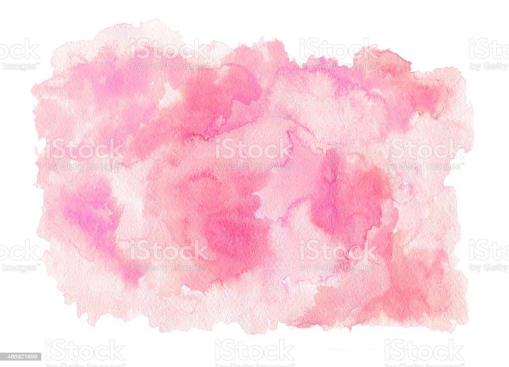 Pink watercolor texture vector art illustration