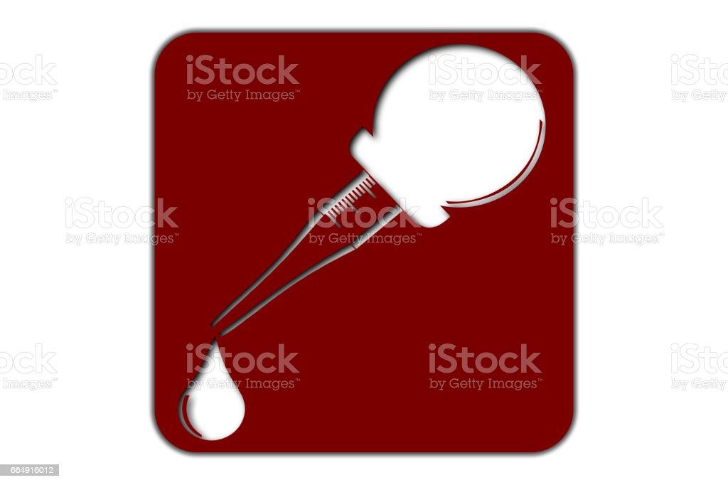 Pipette Icon pipette icon - immagini vettoriali stock e altre immagini di analizzare royalty-free