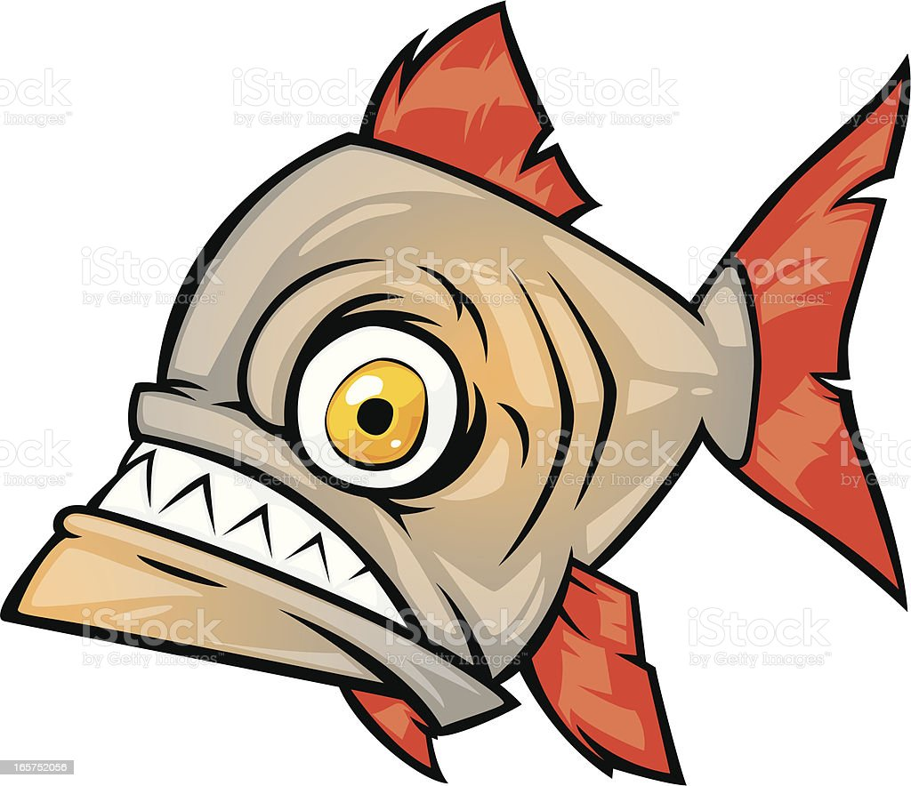 piranha stock vector art   more images of animal 165752056 istock freshwater fish clip art free Northern Fish Clip Art