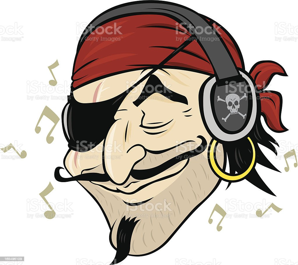 Pirate Music Stock Illustration - Download Image Now - iStock