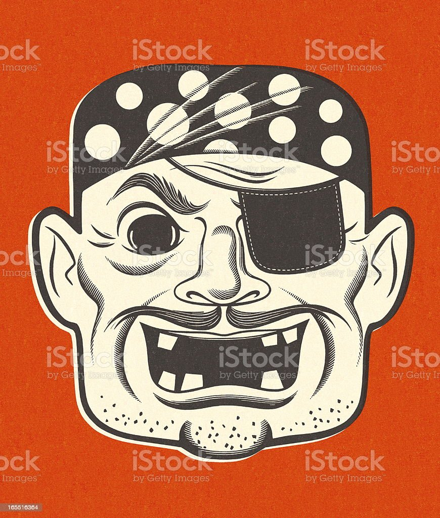 Pirate with and Eyepatch royalty-free pirate with and eyepatch stock vector art & more images of adult