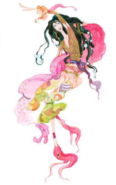 illustrations, cliparts, dessins animés et icônes de signe du poisson. signes du zodiaque. - pisces zodiac