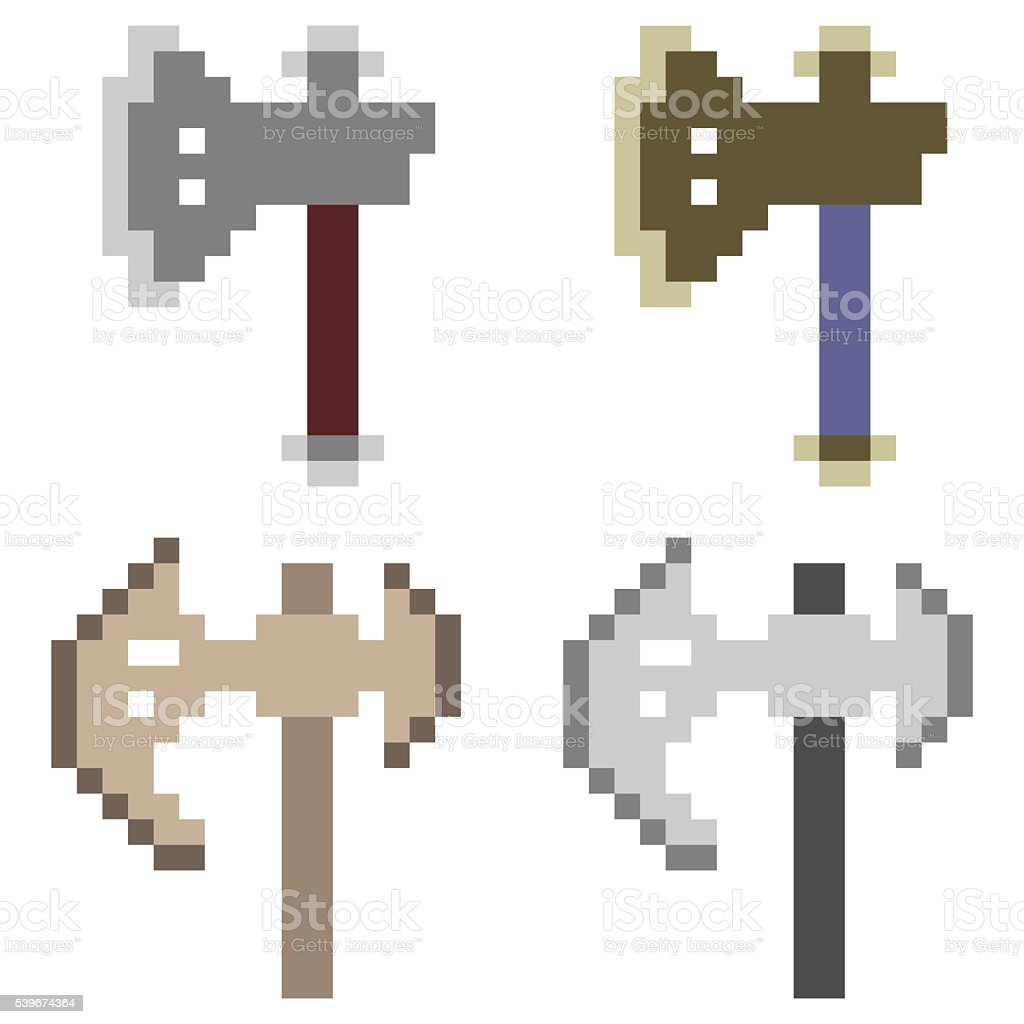 Pixel art axe stock vector art more images of art 539674364 istock pixel art axe royalty free pixel art axe stock vector art amp more images buycottarizona Choice Image