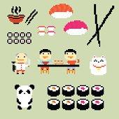 Pixel sushi