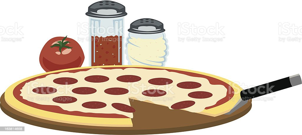 Pizza Time royalty-free stock vector art