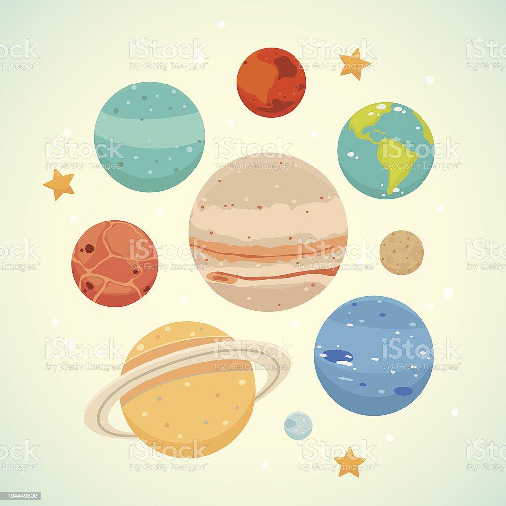 Planet royalty-free stock vector art