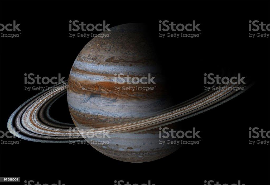Planet in the space royaltyfri planet in the space-vektorgrafik och fler bilder på bild