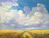 istock Plant of wheat 148184539