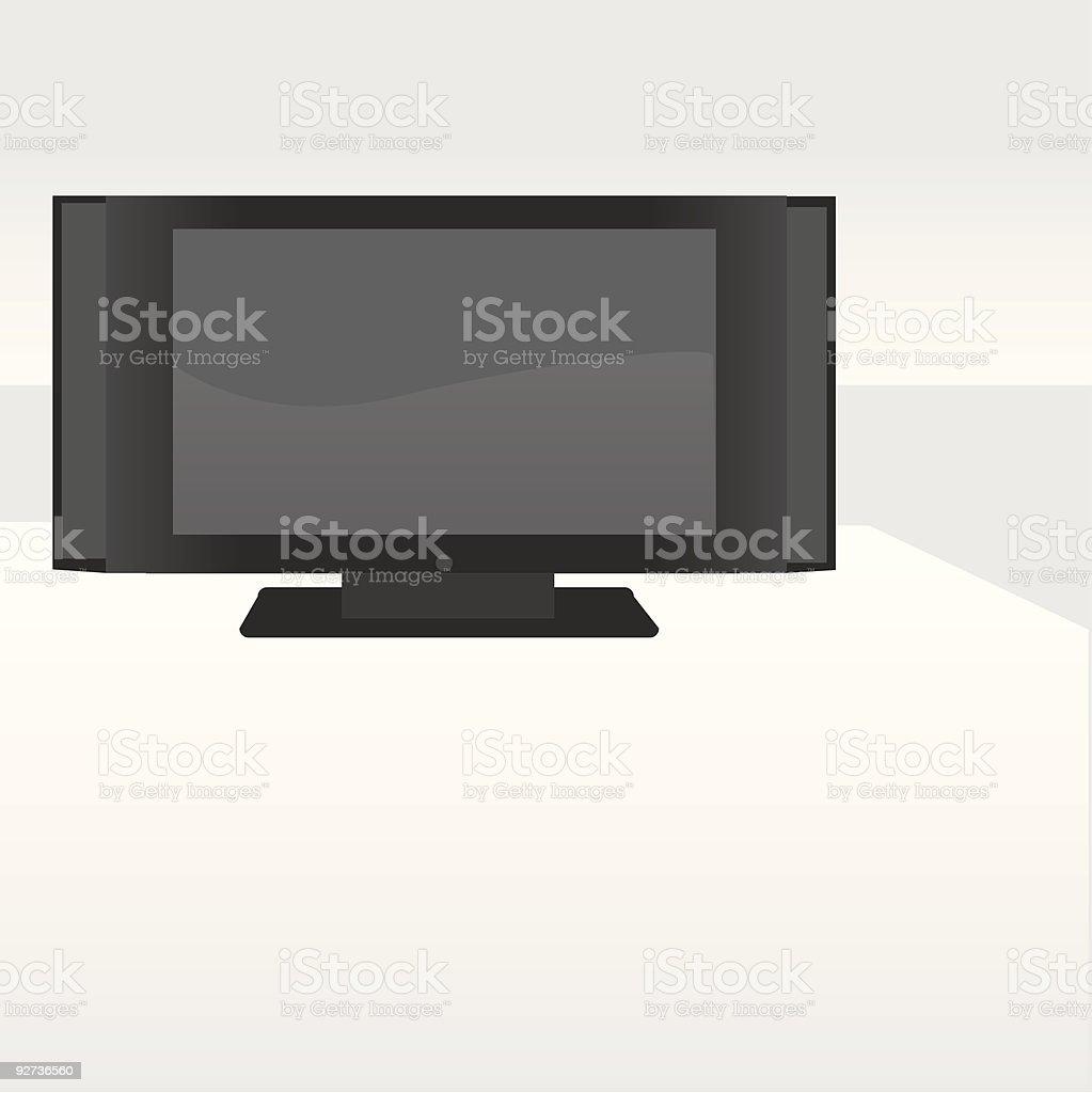 Plasma TV Screen royalty-free plasma tv screen stock vector art & more images of color image