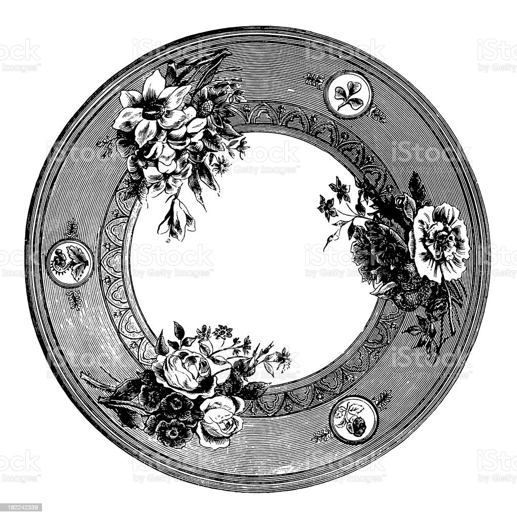 Plate   Antique Design Illustrations royalty-free plate antique design illustrations stock vector art & more images of 19th century
